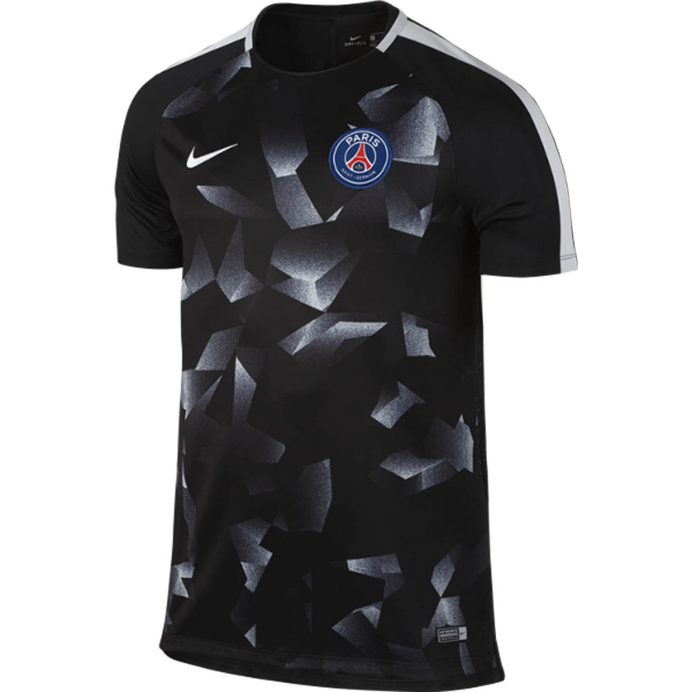 timeless design 5b110 83503 PSG 2017-2018 Pre-Match Training Shirt (Black)