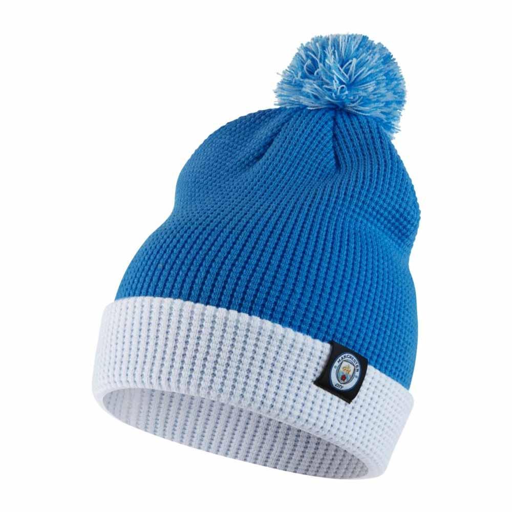 afc1b99bd93 Man City 2017-2018 Bobble Hat (Blue)  881701-488  -  19.65 Teamzo.com