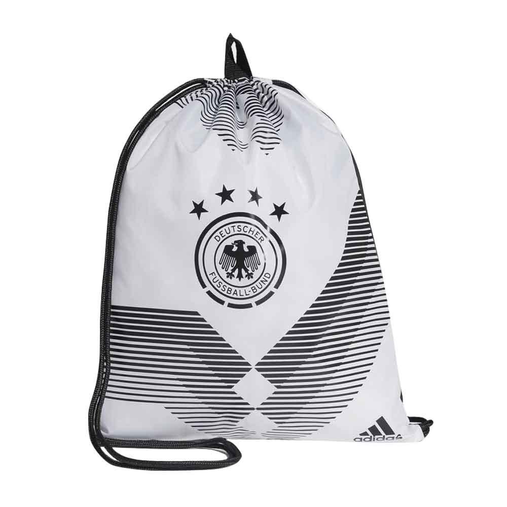 c4cb2f691d 2018-2019 Germany Adidas Gym Bag (White)  CF4939  -  14.54 Teamzo.com