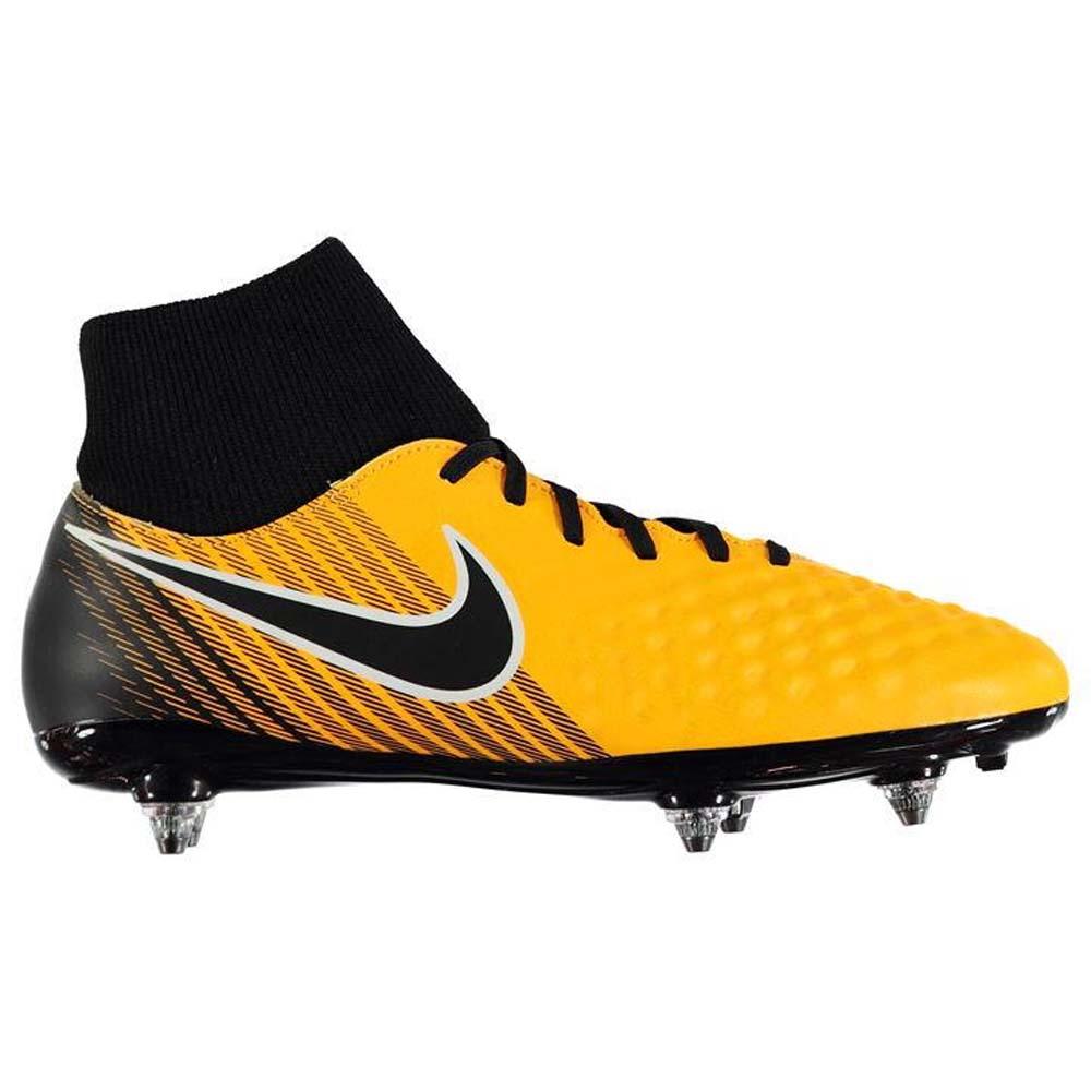 24527d307 Nike Magista Onda II DF SG Mens Football Boots (Orange-Black ...
