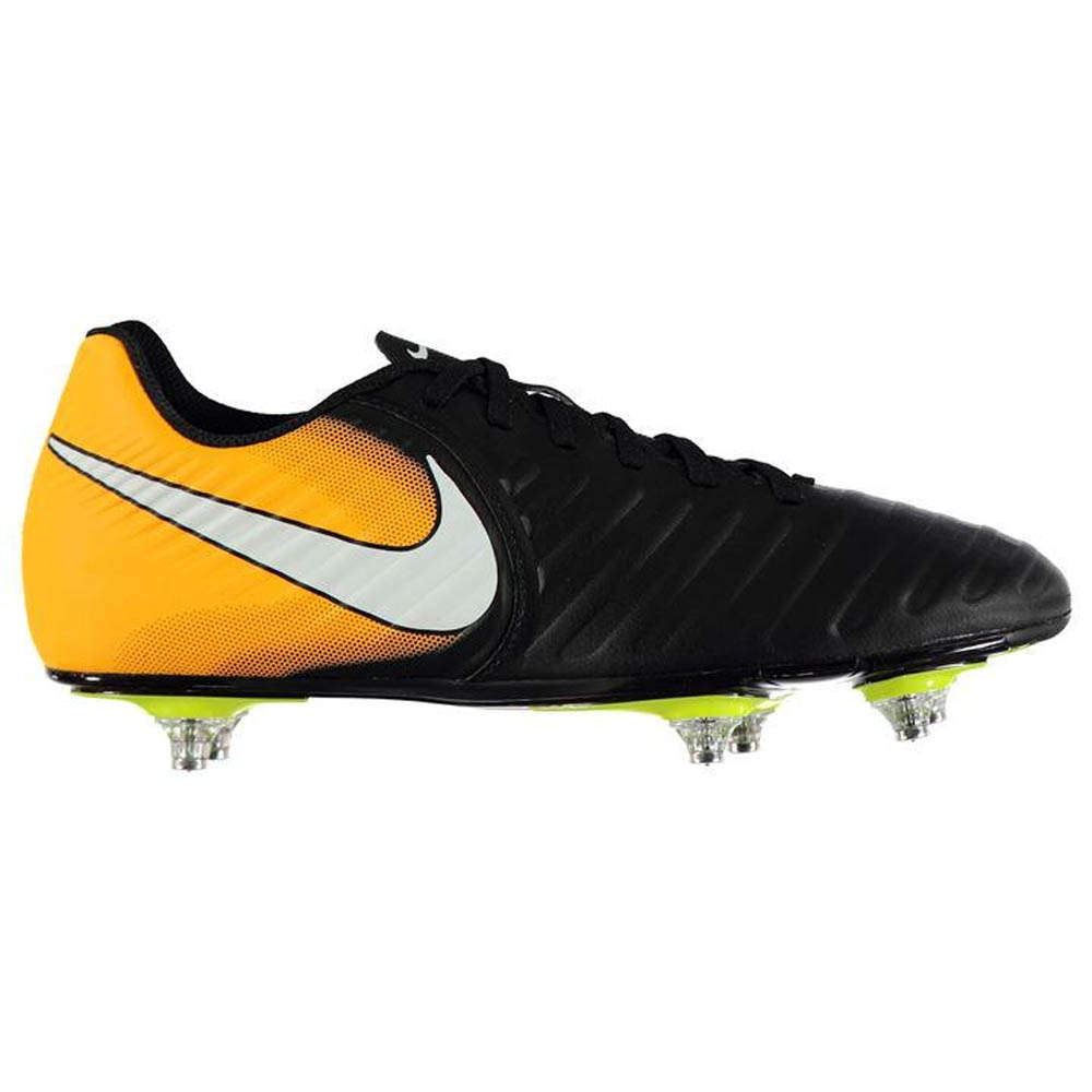 Nike Tiempo Rio IV SG Mens Football Boots (Orange-Black) -  56.48 ... cc39769d2371