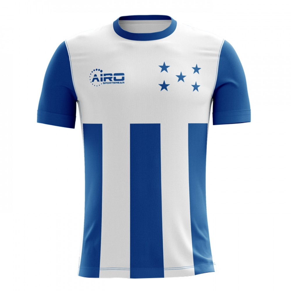 de2a18f19 Honduras 2018-2019 Home Concept Shirt -  45.57 Teamzo.com