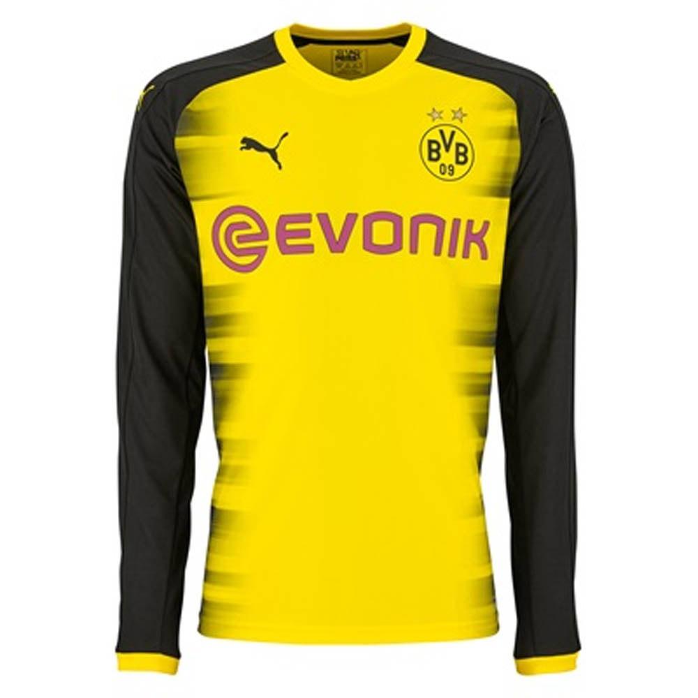 f38ebe0e2 Borussia Dortmund 2017-2018 UCL Long Sleeve Home Shirt (Kids) [75168611] -  $57.10 Teamzo.com