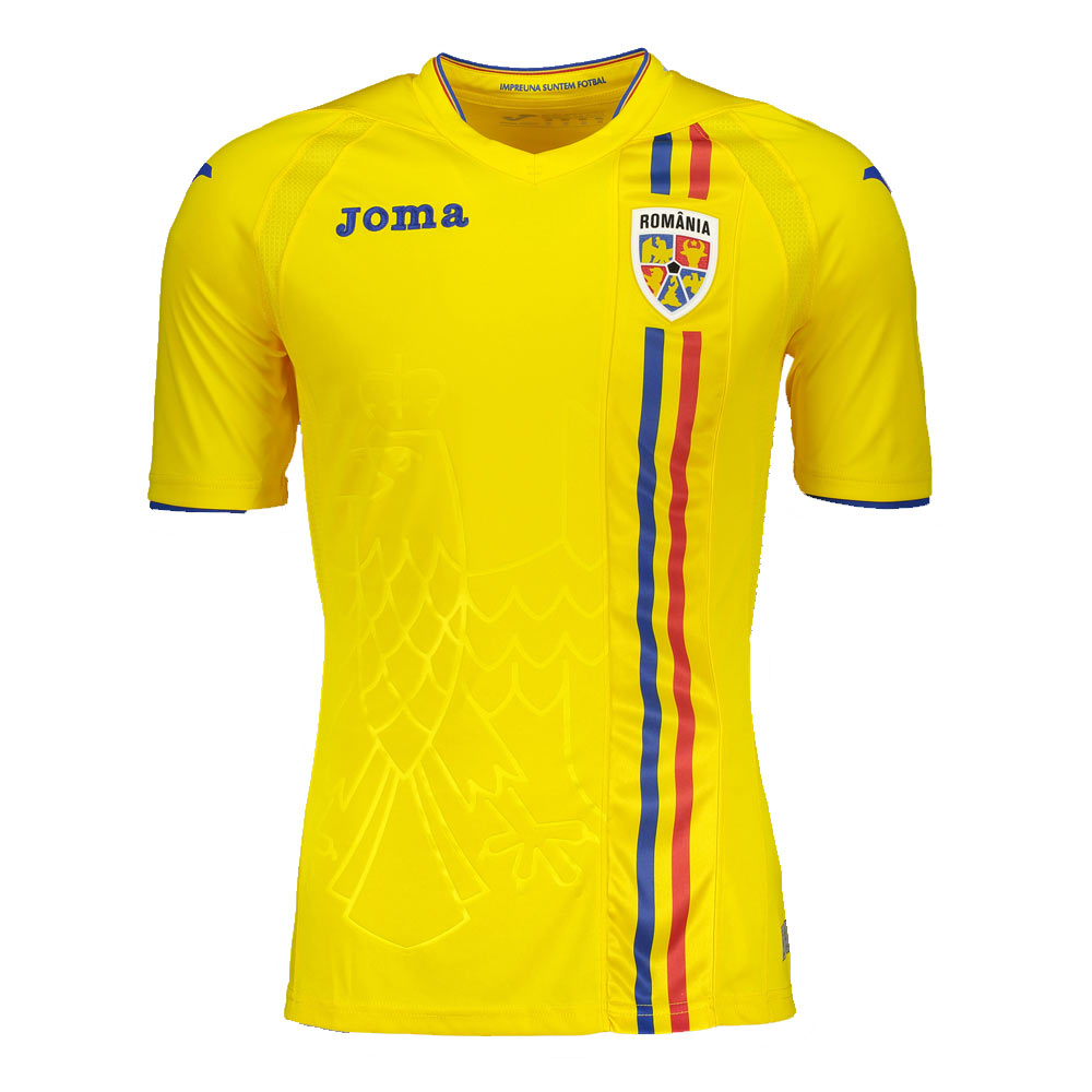 Romania 2018-2019 Home Shirt  RM.101011.17  -  63.48 Teamzo.com 610d1c2aa