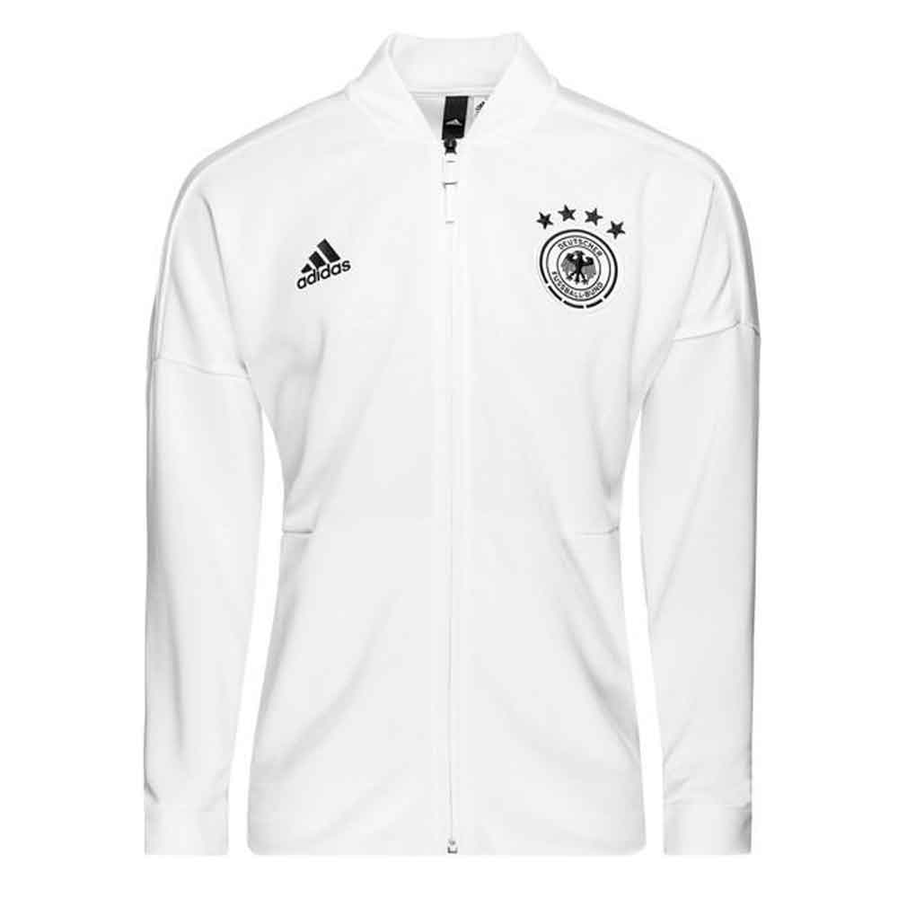 8a1a5f9125e Germany 2018-2019 ZNE Knitted Anthem Jacket (White) [CF2452] - $44.51  Teamzo.com