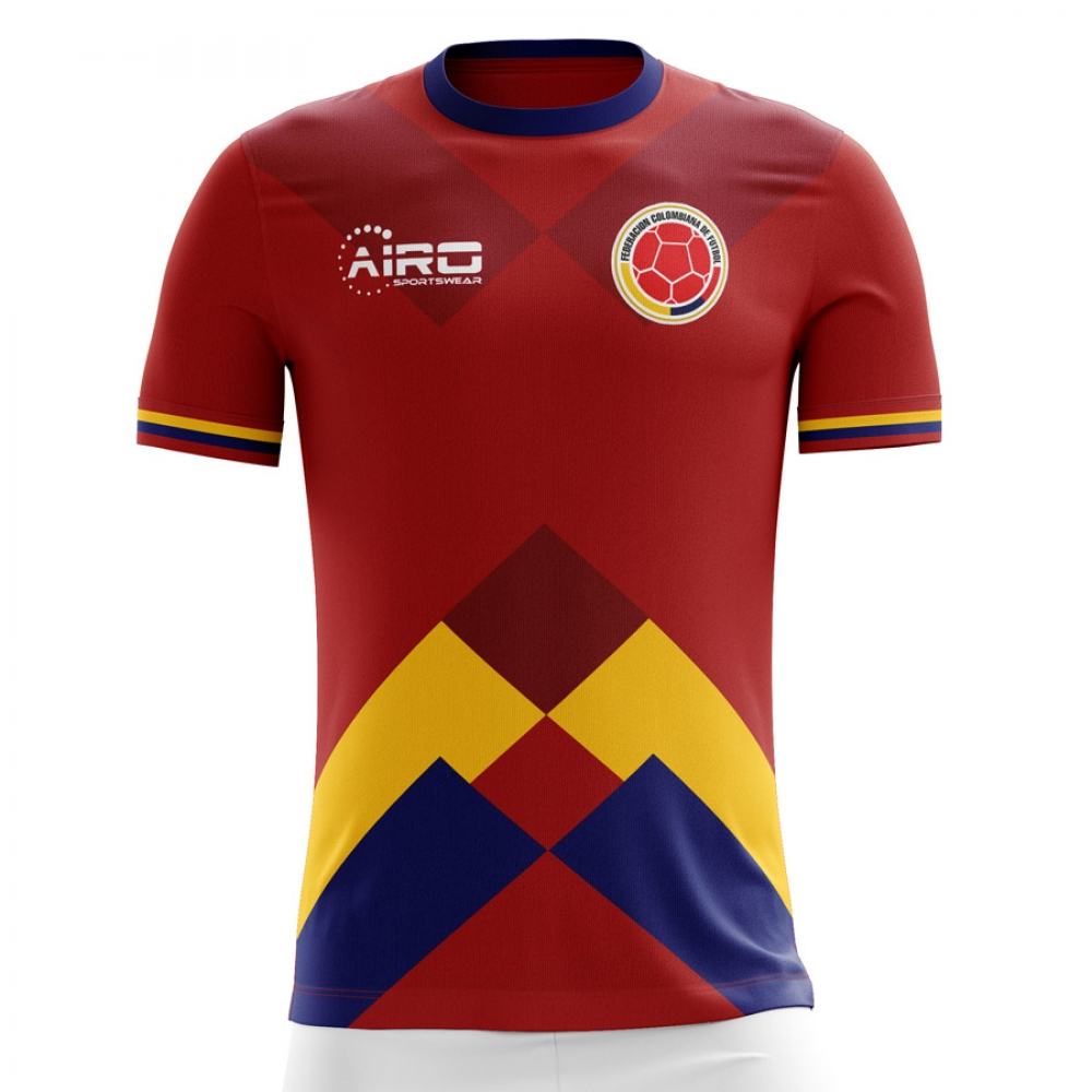 bc28fe005 Colombia 2018-2019 Away Concept Shirt  COLOMBIAA  -  76.06 Teamzo.com