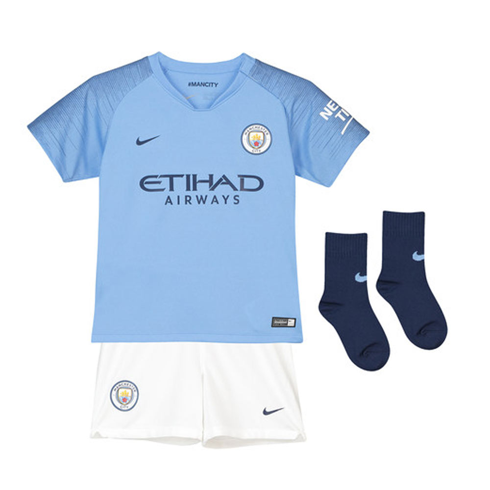 Man City 2018-2019 Home Baby Kit