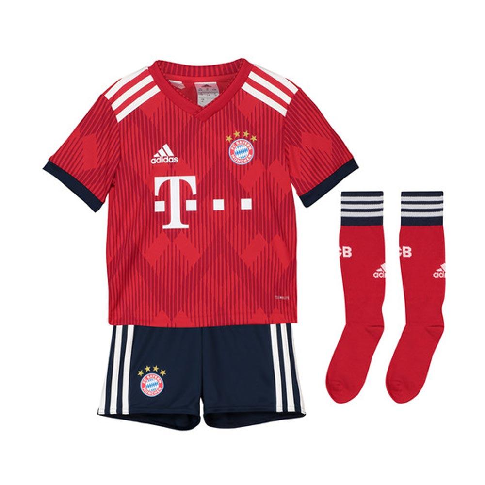 Bayern Munich 2018-2019 Home Mini Kit  CF5423  -  53.10 Teamzo.com b4565ecb9