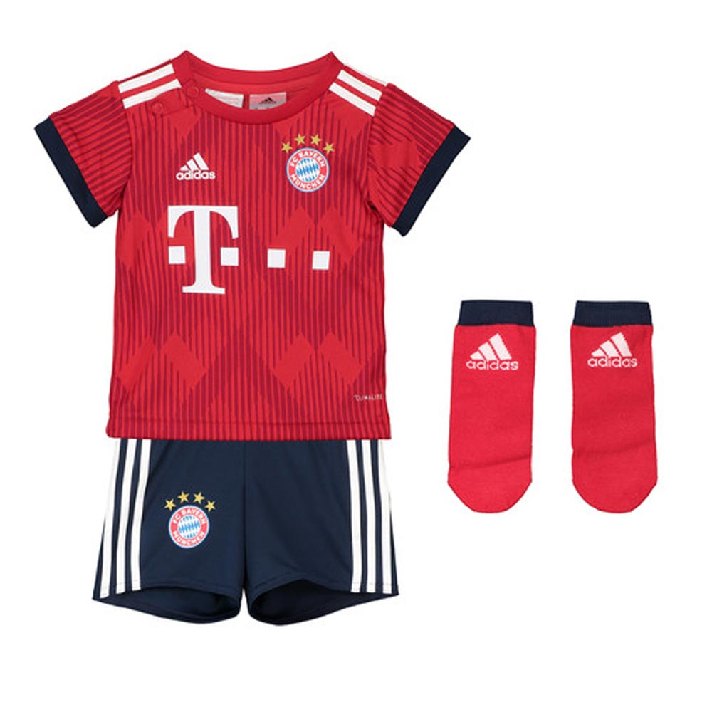 Bayern Munich 2018-2019 Home Baby Kit  CF5416  -  50.35 Teamzo.com 91b0d4674