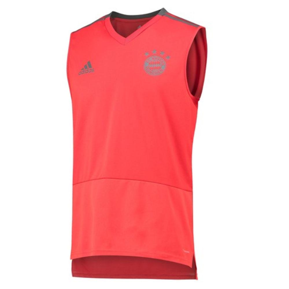 reputable site b32bf 6099c Bayern Munich 2018-2019 Sleeveless Shirt (Red)