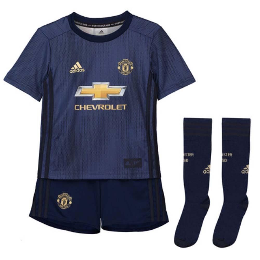 buy online 51bc7 be154 Man Utd 2018-2019 Third Mini Kit