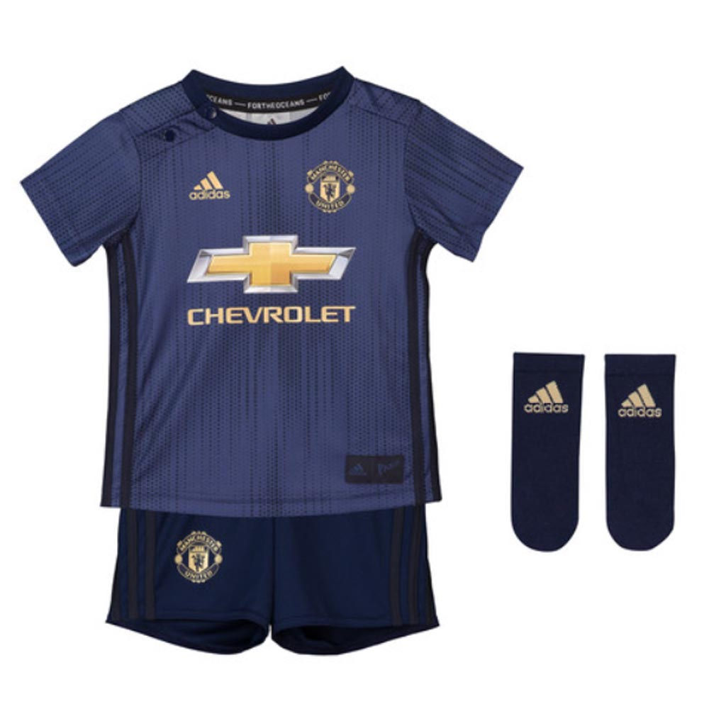 arrives 6f584 8a3d9 Man Utd 2018-2019 Third Baby Kit