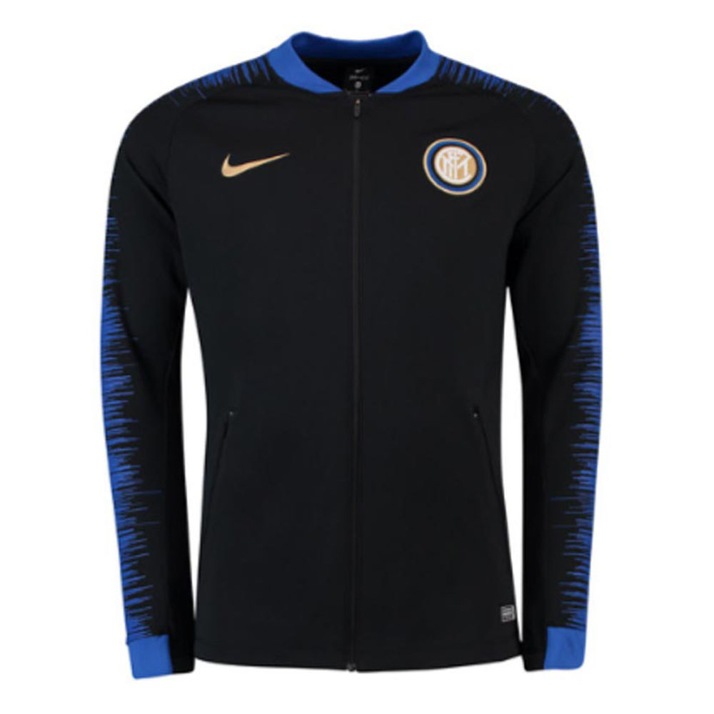 sports shoes 798af de224 Inter Milan 2018-2019 Anthem Jacket (Black)