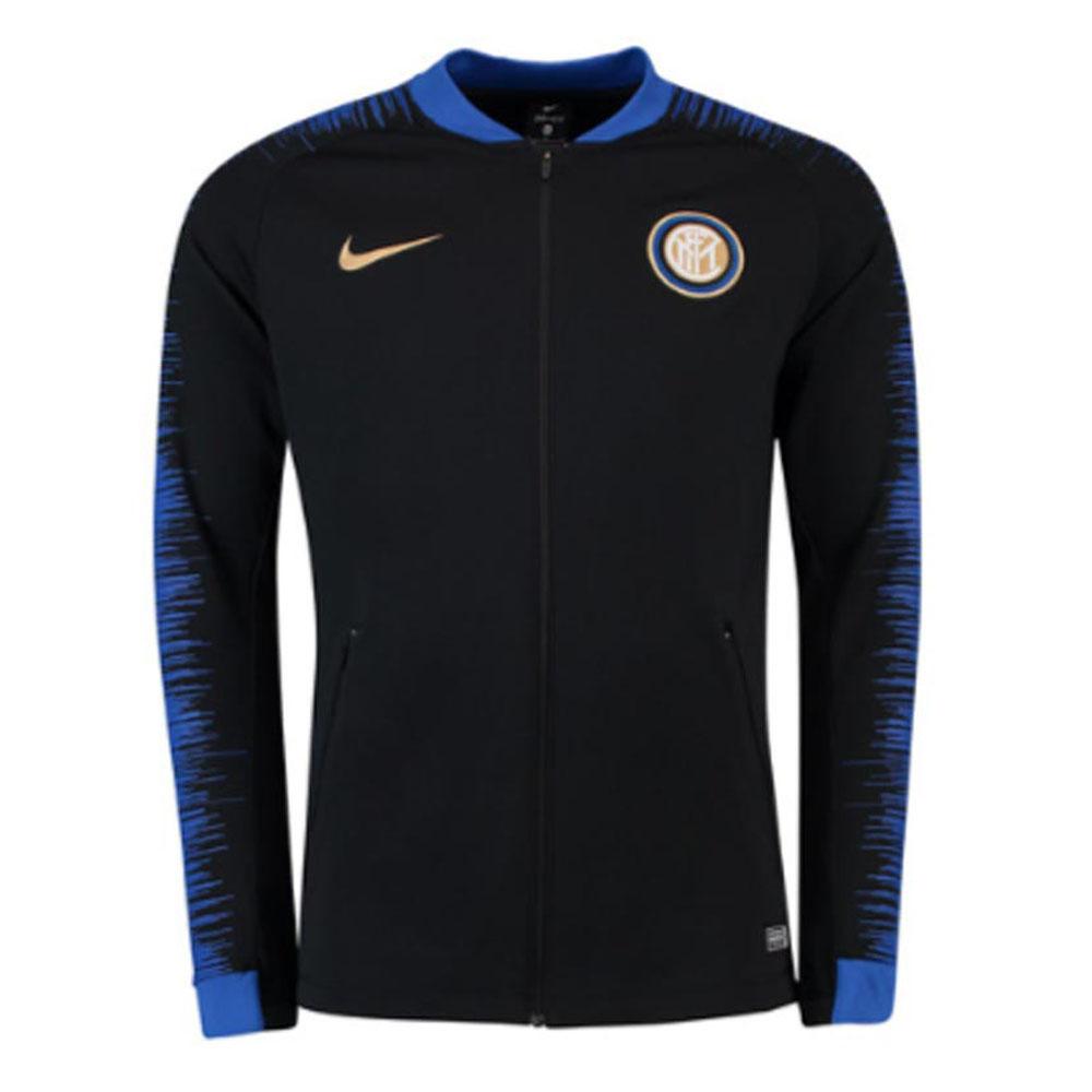 sports shoes 91975 f0559 Inter Milan 2018-2019 Anthem Jacket (Black)
