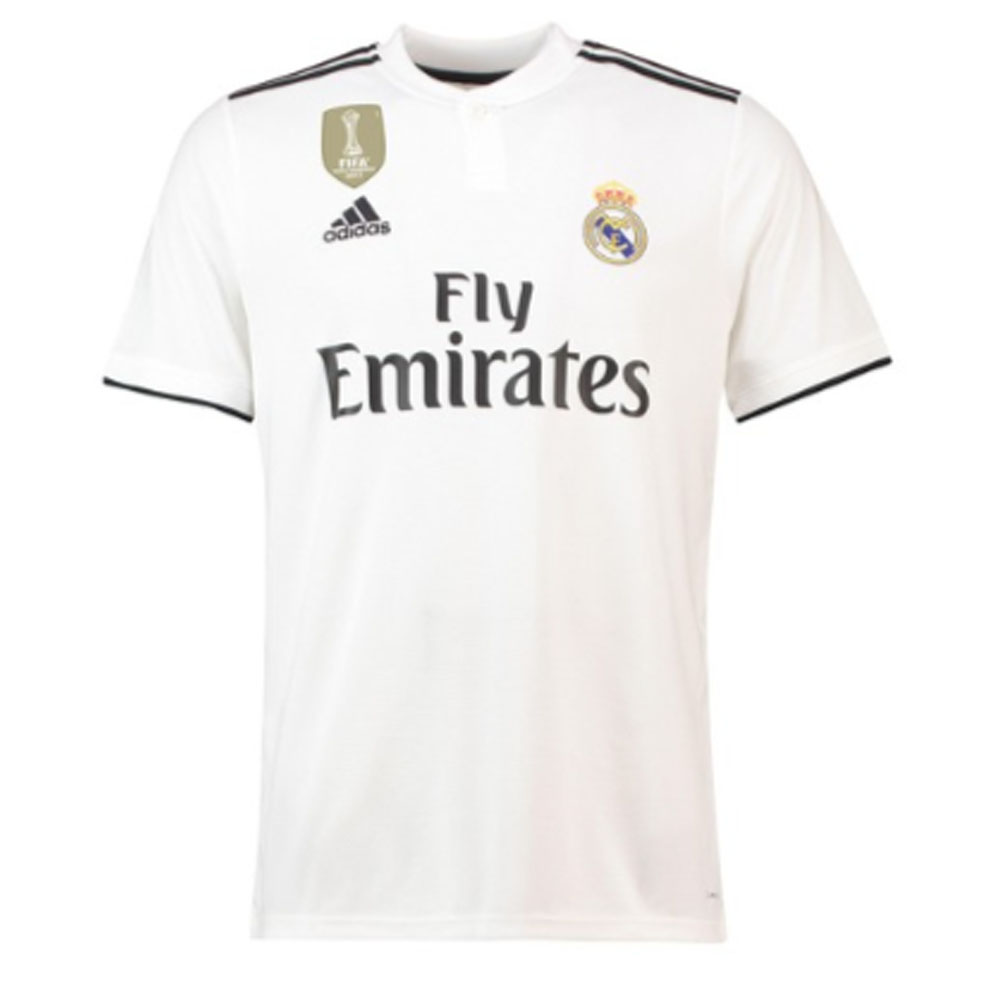 save off e9573 19c87 Real Madrid 2018-2019 Home Shirt