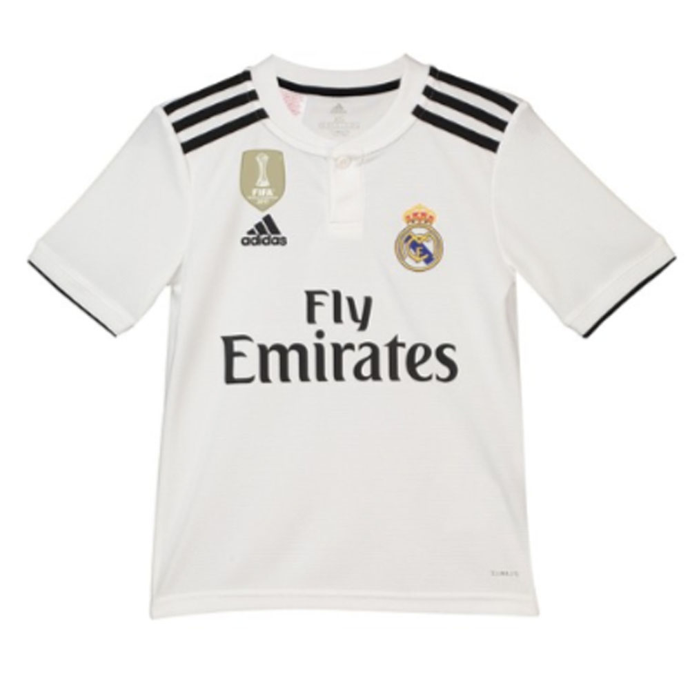 fe5e16e7bac Real Madrid 2018-2019 Home Shirt (Kids) [CG0552] - $44.46 Teamzo.com