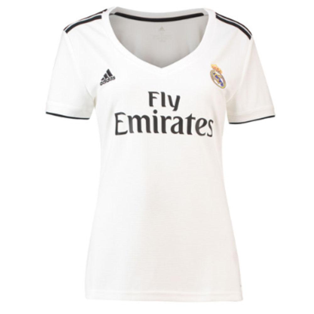 Real Madrid 2018 2019 Ladies Home Shirt