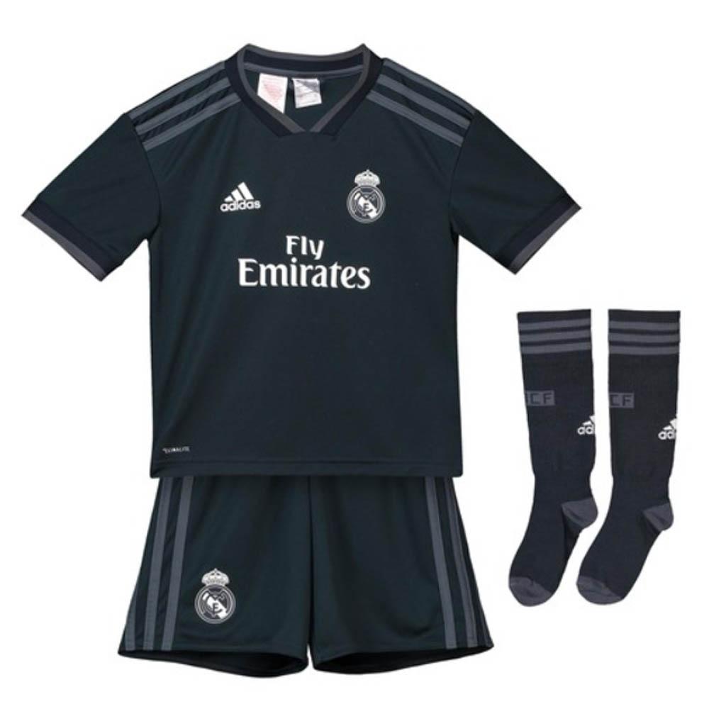 new arrival 627ff 9763d Real Madrid 2018-2019 Away Mini Kit