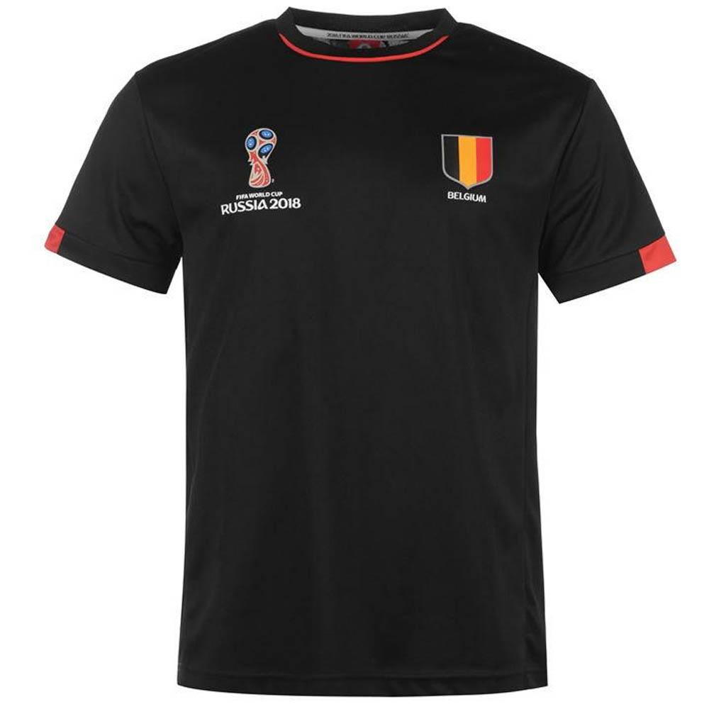 a4614b20c0e Belgium FIFA World Cup 2018 Poly T Shirt Mens (Black) -  25.44 ...