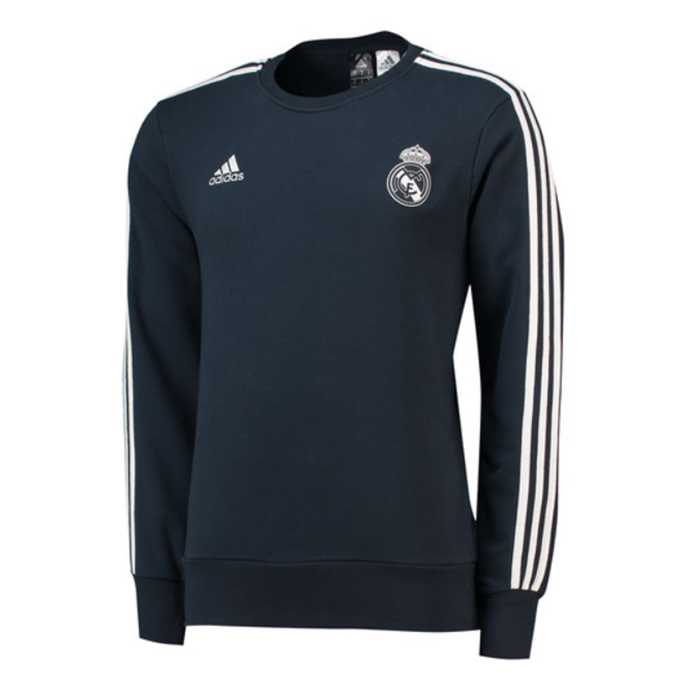 Real Madrid 2018-2019 Sweat Top (Dark Grey)  CW8691  -  58 3435b1793