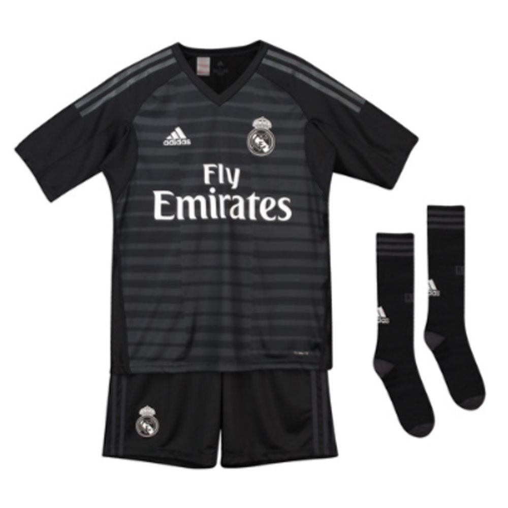 5ebfd0f1a88 Real Madrid 2018-2019 Home Goalkeeper Full Kit (Kids) [CG0568] - $81.93  Teamzo.com