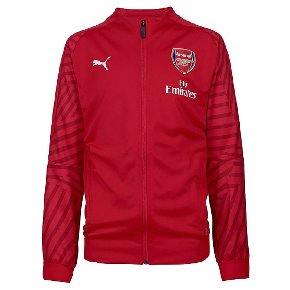 831915bced7 Arsenal 2018-2019 Stadium Jacket (Chilli Pepper) - Kids  75325413 ...