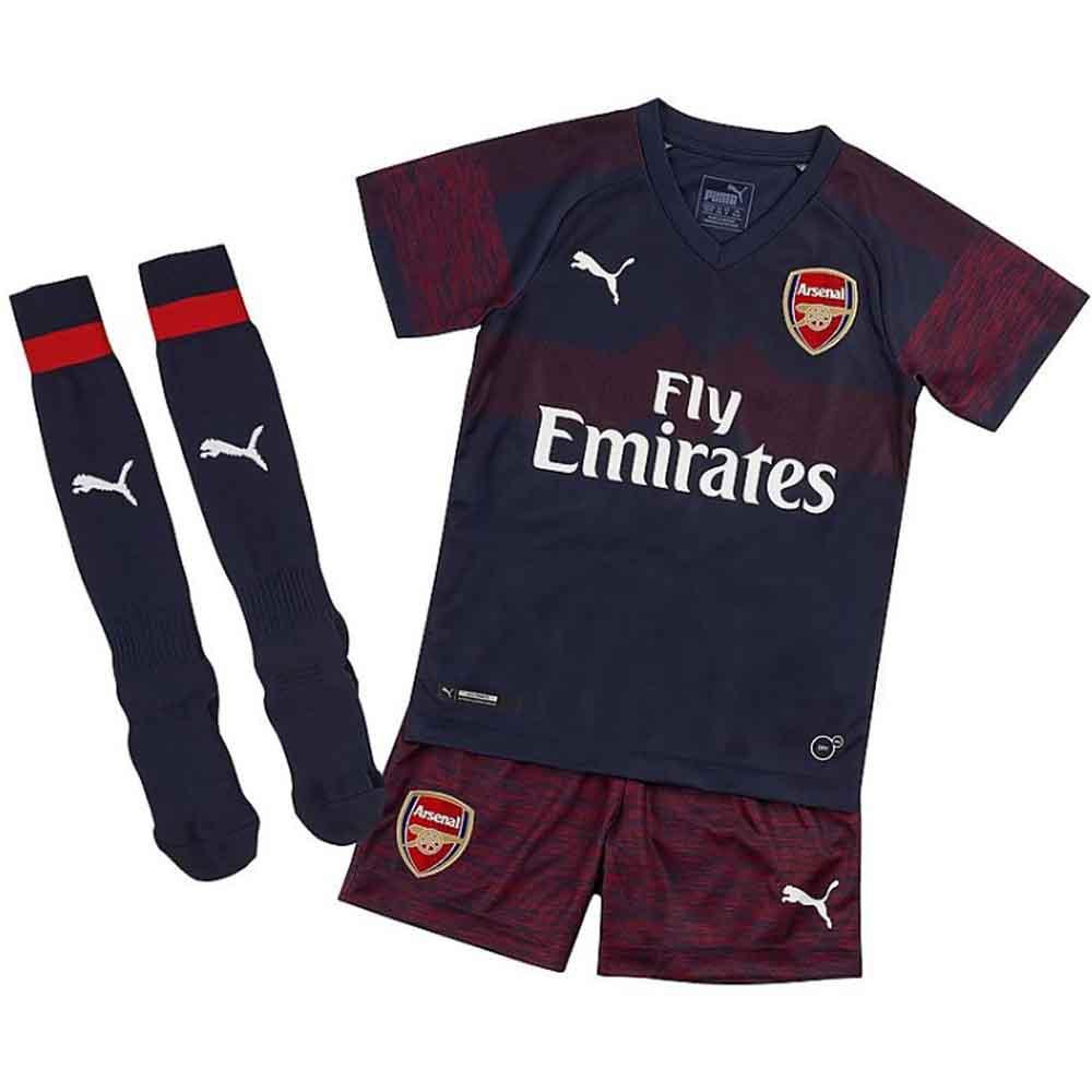 promo code a10da bce23 Arsenal 2018-2019 Away Mini Kit