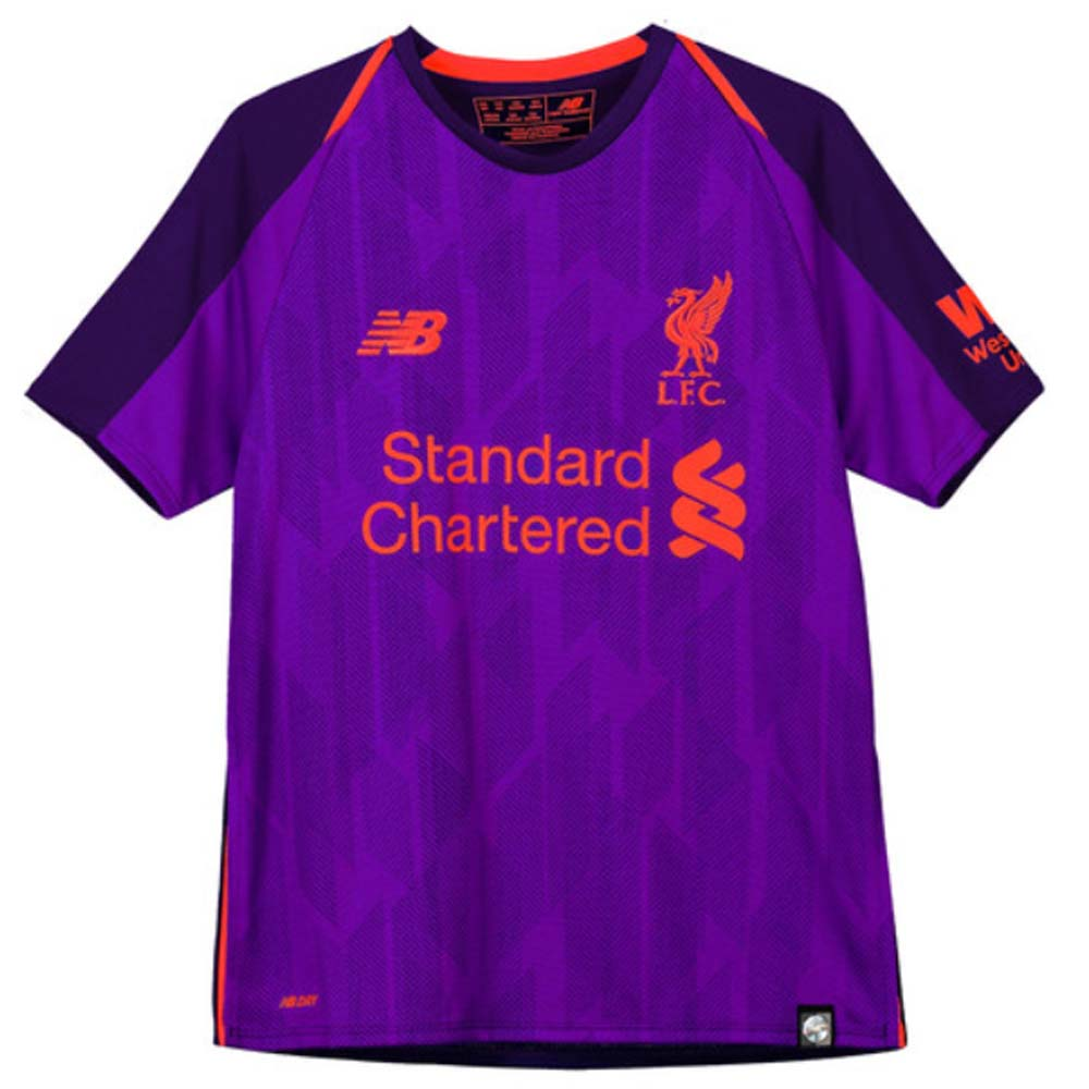 new style 9eff6 78081 Liverpool 2018-2019 Away Shirt (Kids)