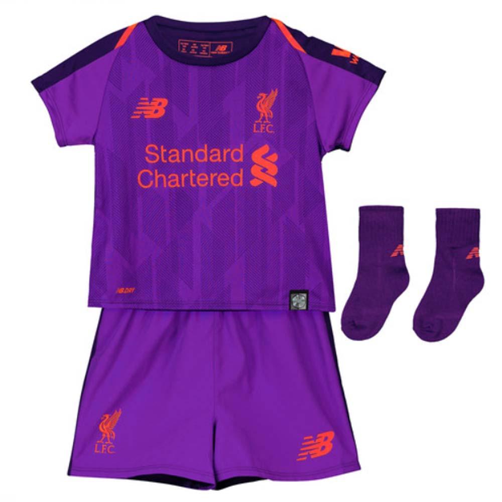 best website c6dcd 20c5b Liverpool 2018-2019 Away Baby Kit