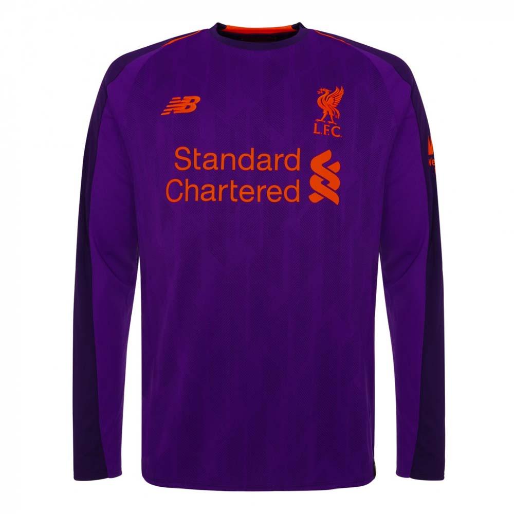 watch efd93 41ddd Liverpool 2018-2019 Away Long Sleeve Shirt (Kids)