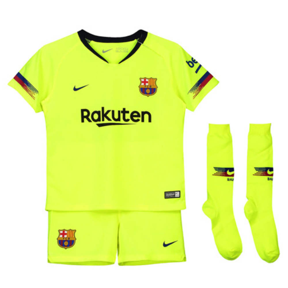 pretty nice 881fa f68d3 Barcelona 2018-2019 Away Mini Kit