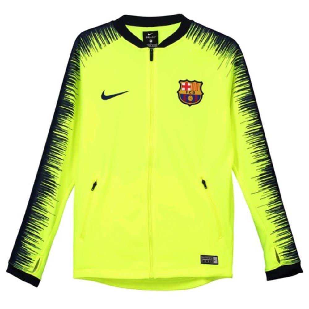 new product 4caf4 68a5d Barcelona 2018-2019 Anthem Jacket (Volt) - Kids