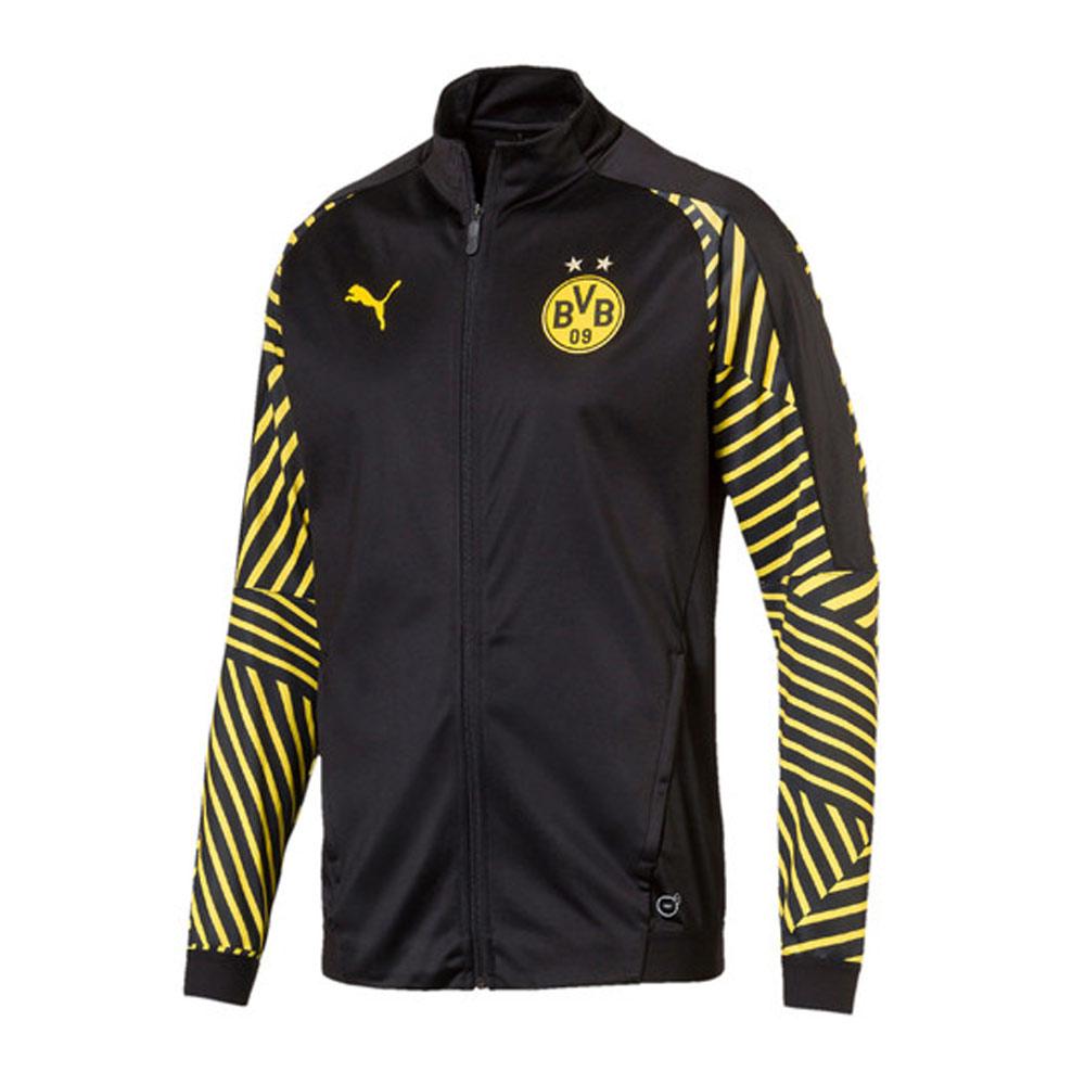 Borussia Dortmund 2018-2019 Stadium Jacket (Black) - Kids  75335302 ... ec0709359