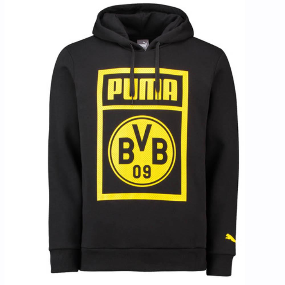 Borussia Dortmund 2018 2019 Shoe Tag Hoodie (Black)