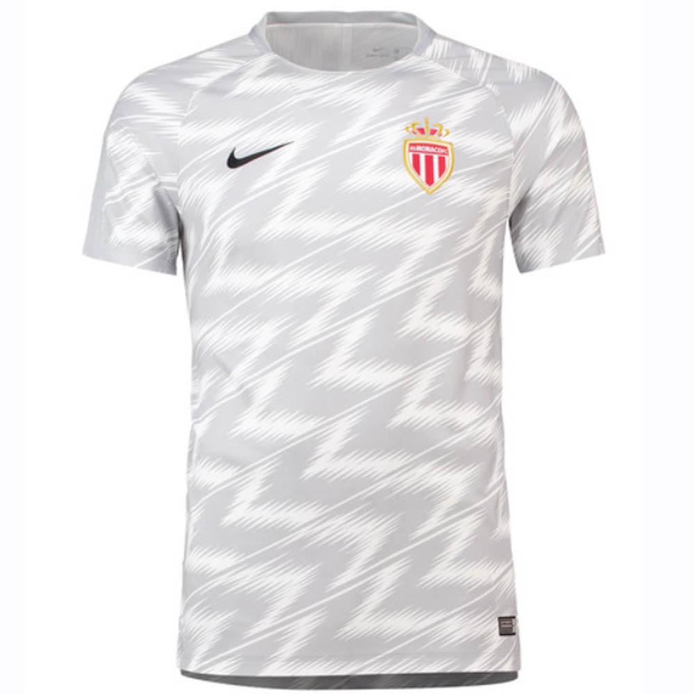 a71a1f433e8 Monaco 2018-2019 Dry Pre-Match Training Shirt (White)