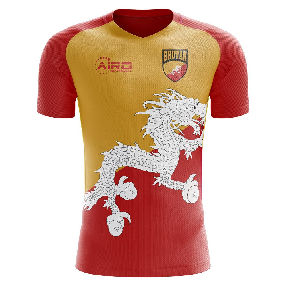 04c3df58b Bhutan 2018-2019 Home Concept Shirt (Kids) [BHUTANHKIDS] - $63.44 Teamzo.com