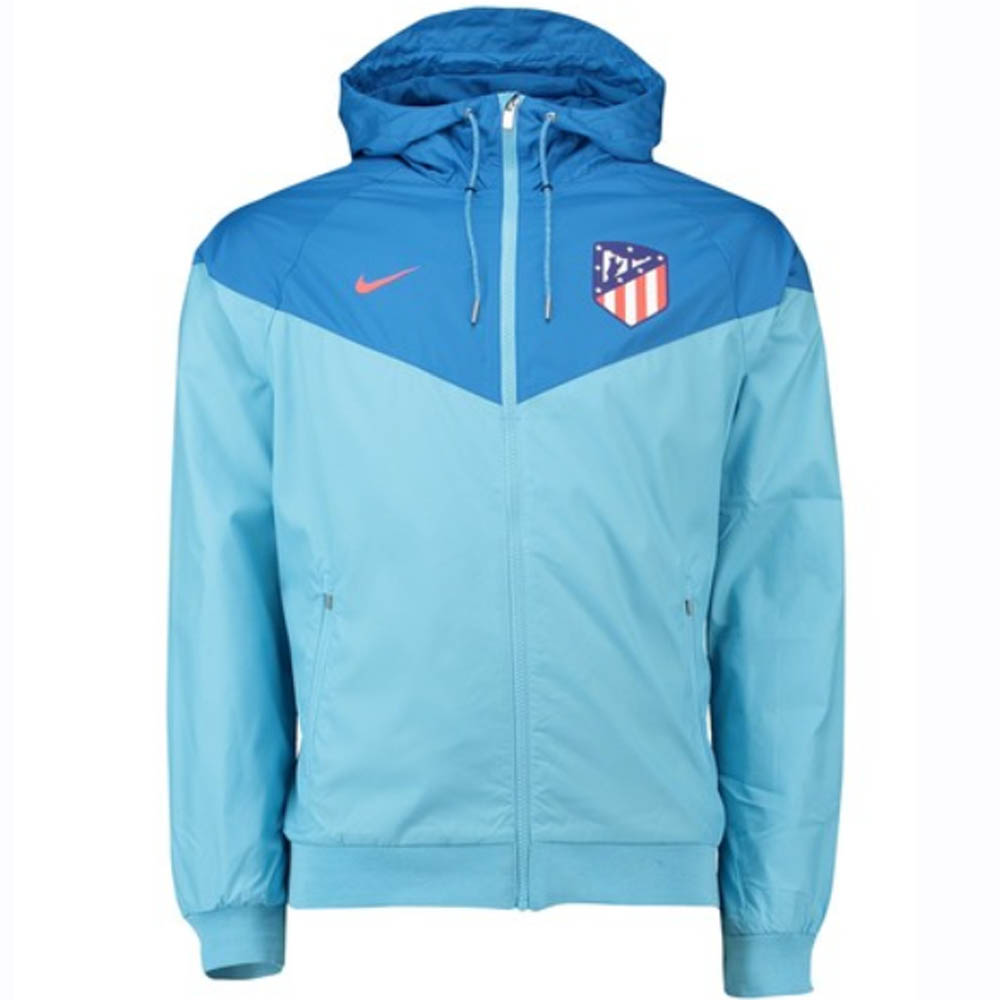 a73d88c353 Atletico Madrid 2018-2019 Authentic Windrunner Jacket (Blue)  919575 ...
