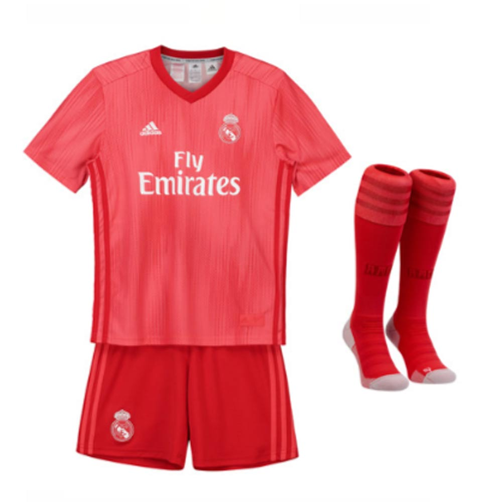 e9606b4e7 Real Madrid 2018-2019 Third Full Kit (Kids)  DP5444  -  85.19 Teamzo.com