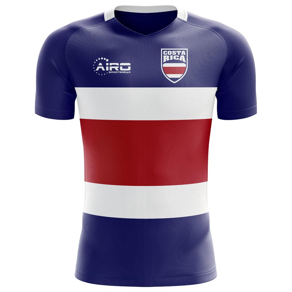 f78636e8cc1 Costa Rica 2018-2019 Flag Concept Shirt (Kids)  COSTARICAFLAGKIDS ...