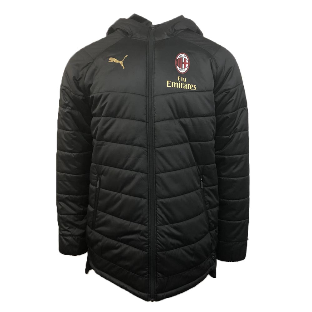 Ac Milan 2018 2019 Bench Jacket Black 75445201 122