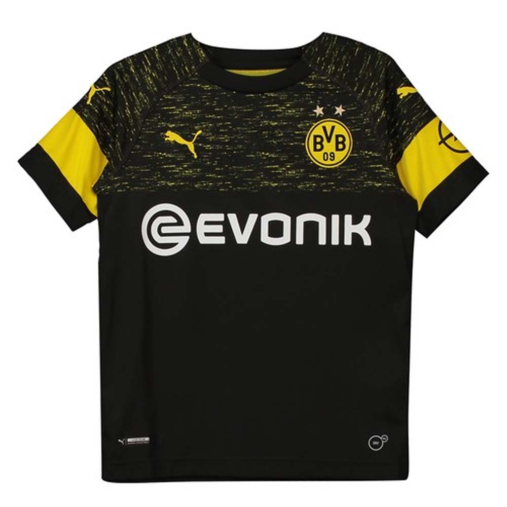 Borussia Dortmund 2018 2019 Away Shirt Kids 75331902 70 80 Teamzo Com
