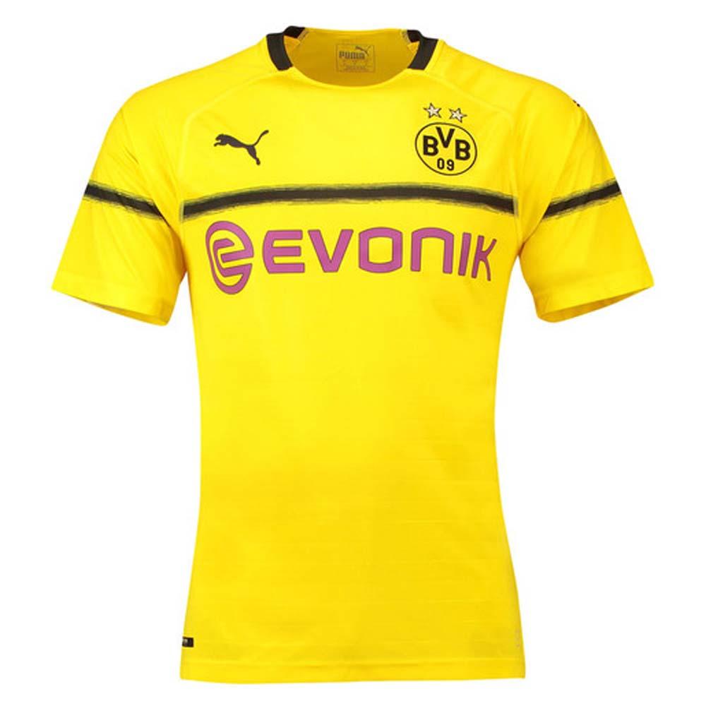 watch 282b8 e4c91 Borussia Dortmund 2018-2019 UCL Home Shirt (Kids)