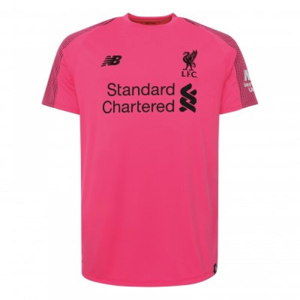 7ddd10445a8 Liverpool 2018-2019 Third GK Shirt (Pink)  MT839015  -  78.36 Teamzo.com