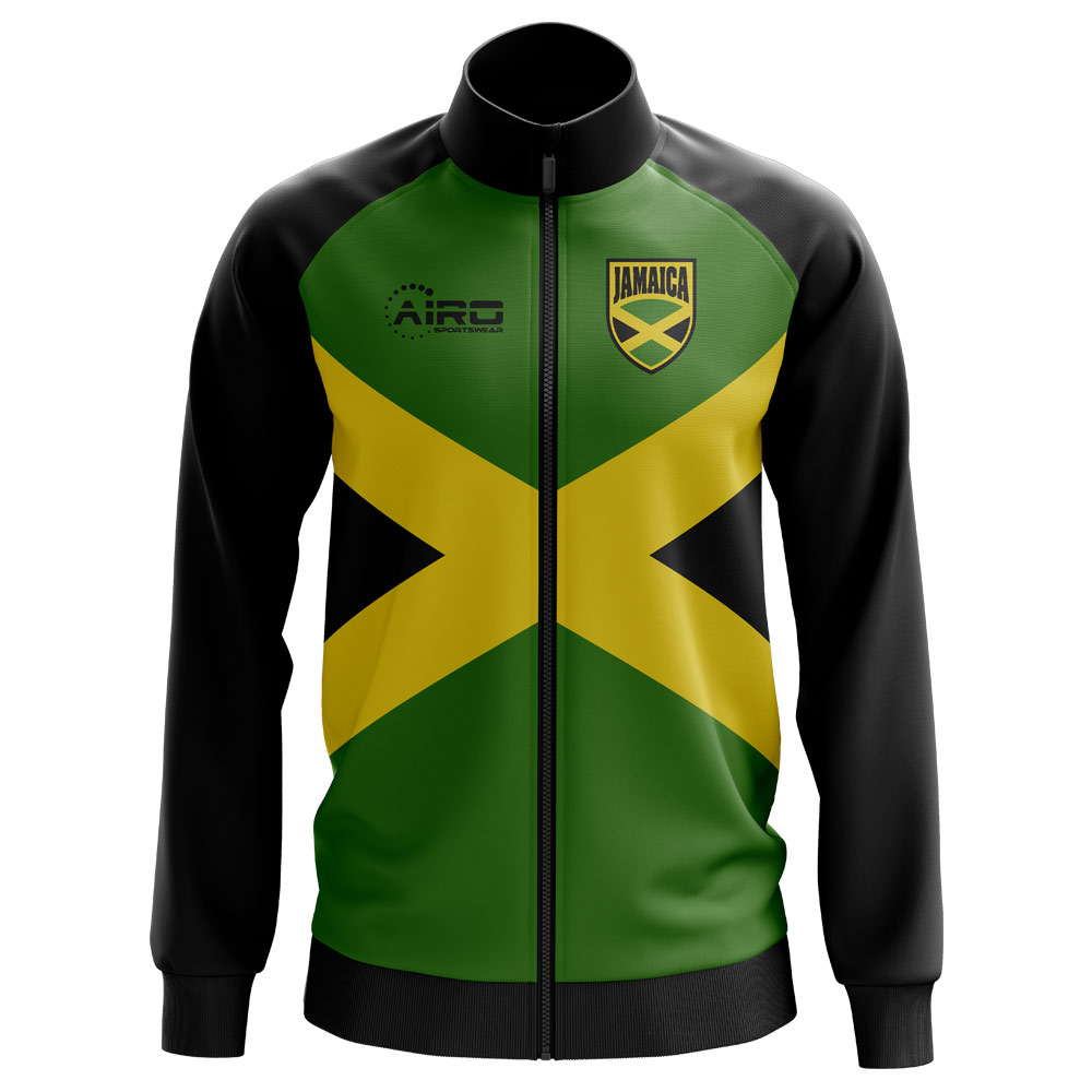 740fb0de5 Jamaica Concept Football Track Jacket (Green) - Kids ...