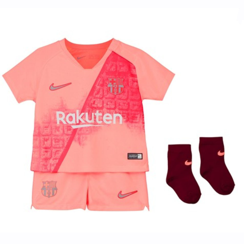 timeless design 1e5b6 14a99 Barcelona 2018-2019 Third Baby Kit