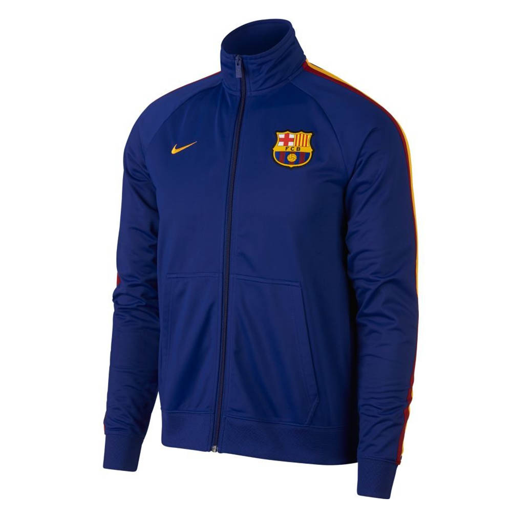dc1f252482f Barcelona 2018-2019 Core Trainer Jacket (Blue)  892532-455  -  68.15 ...