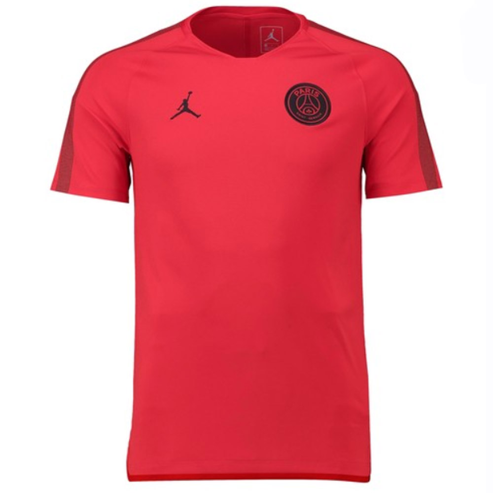 psg 2018 2019 squad training shirt red aq0952 657. Black Bedroom Furniture Sets. Home Design Ideas