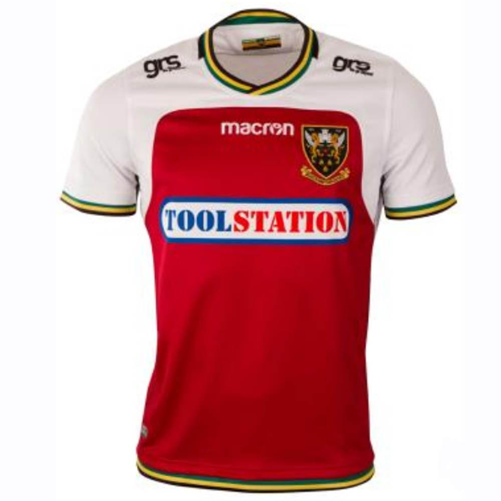 timeless design e0271 93770 2018-2019 Northampton Saints Away Authentic Replica Rugby Shirt