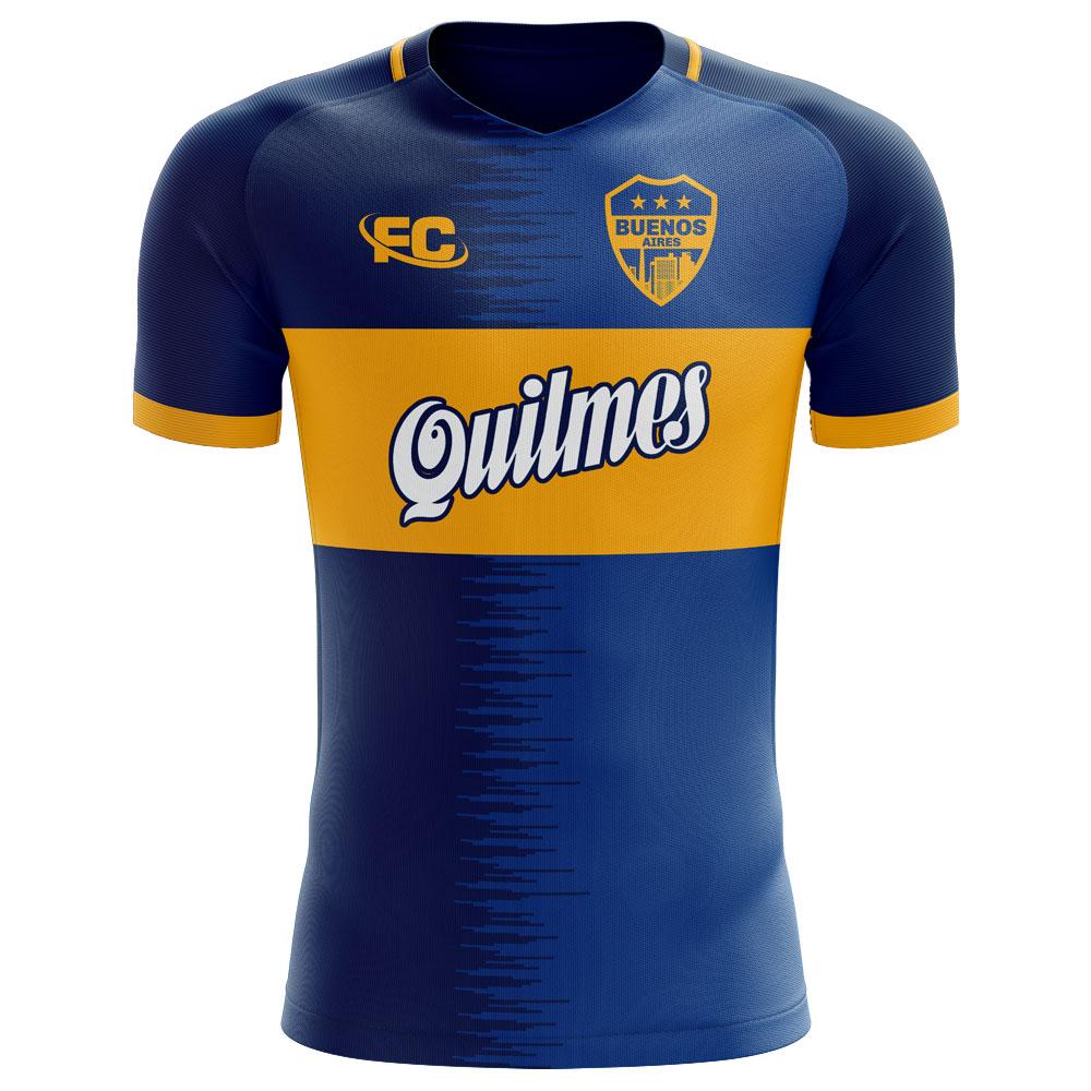 sale retailer 5e4de ec983 Boca Juniors 2018-2019 Home Concept Shirt
