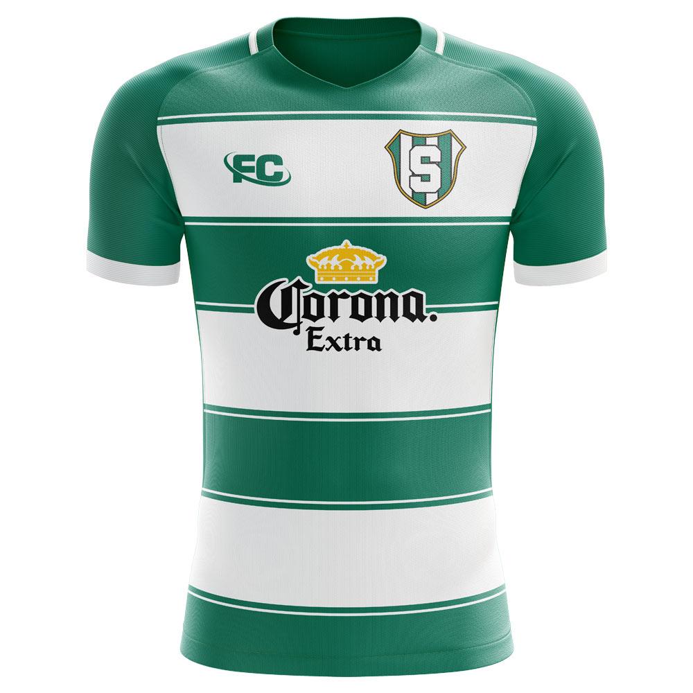 9c072d61800 Santos Laguna 2018-2019 Home Concept Shirt [LAGUNAHFC] - $75.63 Teamzo.com